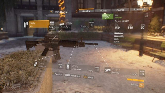 the division 2 weapon mods