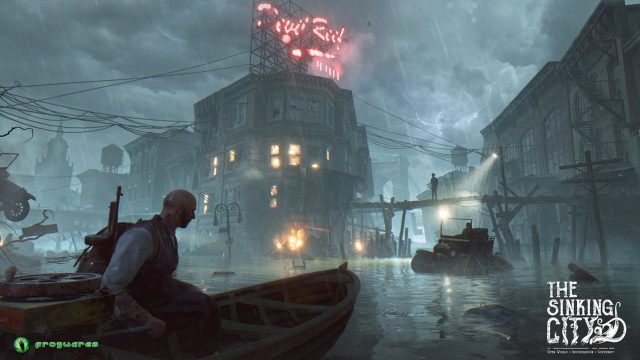 the sinking city trailer very lovecraftian