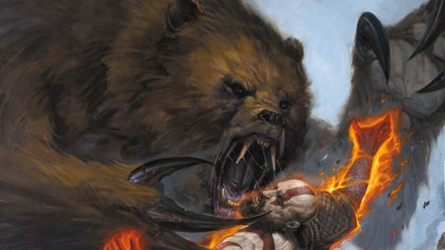 God of War PS4 Prequel Comic Miniseries Cropped