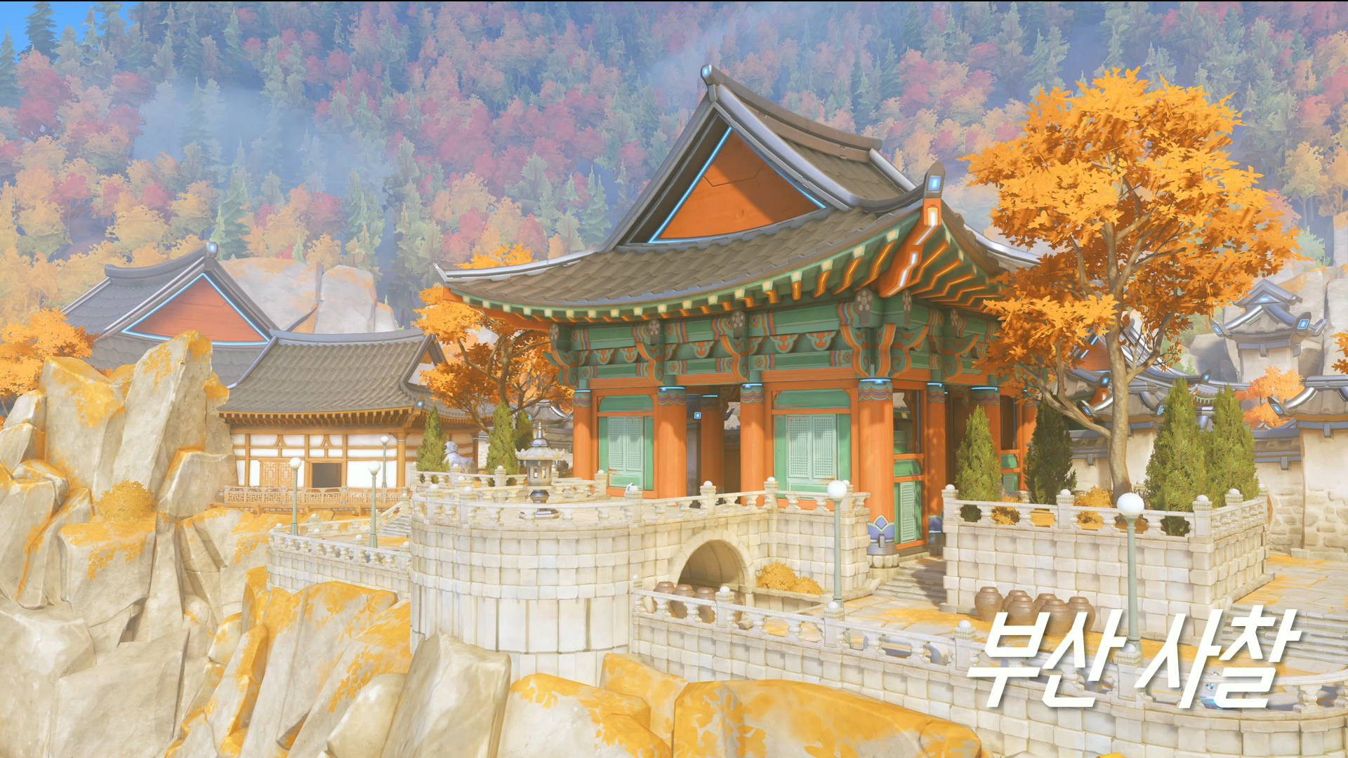 Overwatch Busan South Korea Map release date