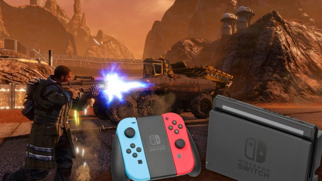 Red Faction Guerrilla Switch