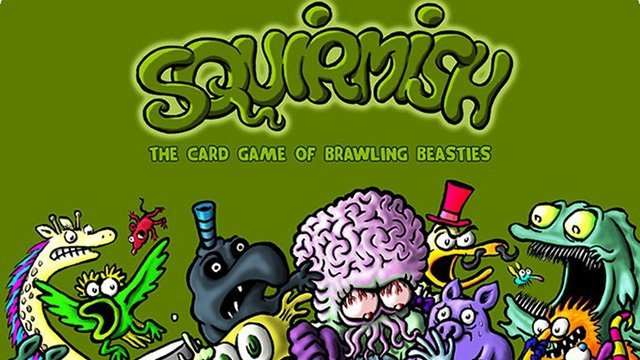 Squirmish 'The Card Game Of Brawling Beasties'