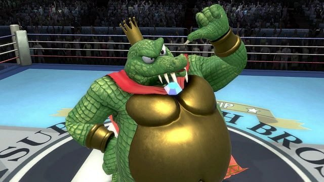 twitter really wants to fck king k rool so do i