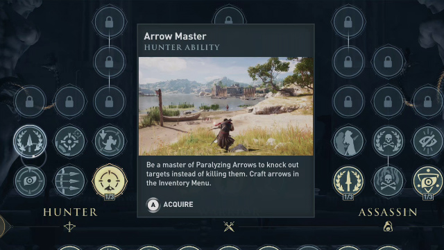 Assassin's Creed Odyssey Paralyzing Arrows