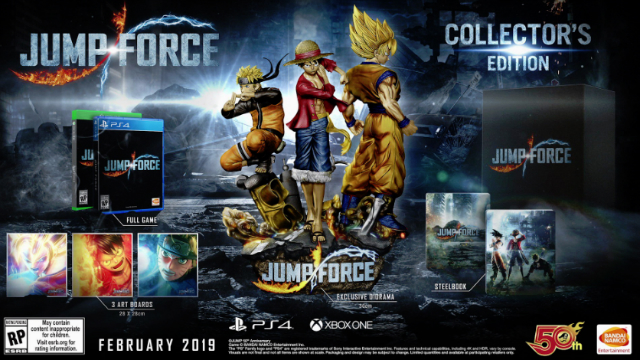 Jump Force Pre-Order Bonus Collector's Edition