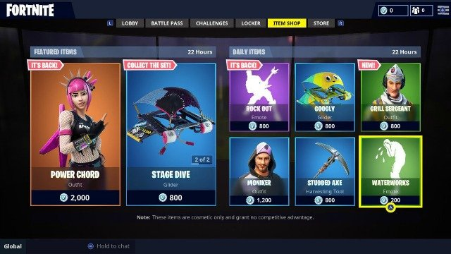 Fortnite Daily Shop