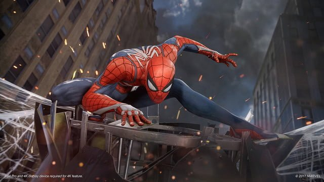 Spider Man PS4 New Game Plus