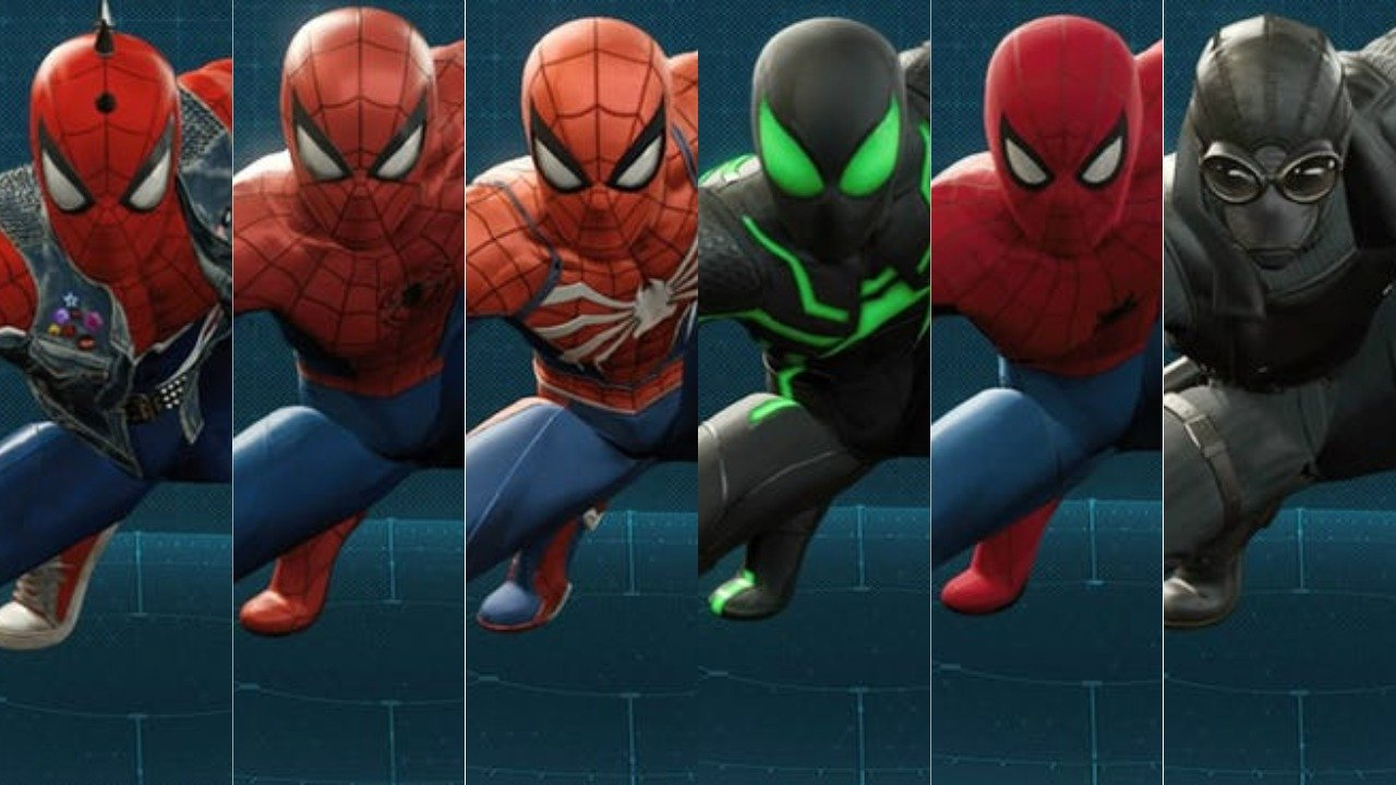 Image result for spiderman ps4 suits