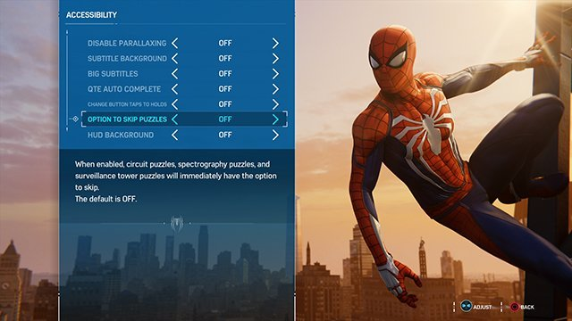 Spider-Man PS4 QTE auto complete on or off?