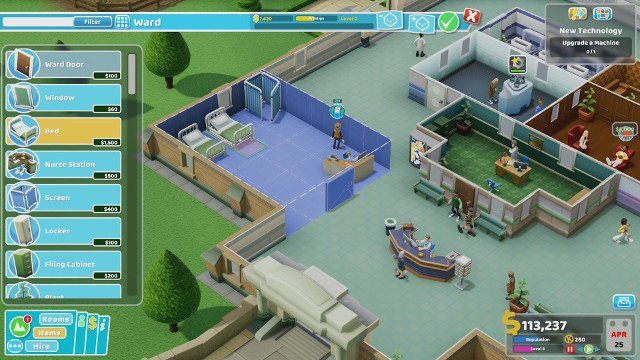 two point hospital review sandbox