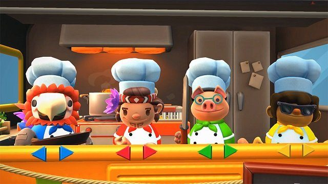Overcooked 2 Surf N Turf, Best Nintendo Switch Couch Co-op Games
