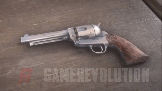 Red Dead Redemption 2 Cattleman Revolver