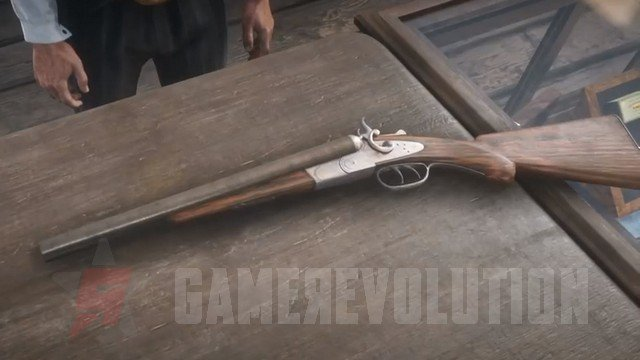 Red Dead Redemption 2 Double-Barreled Shotgun