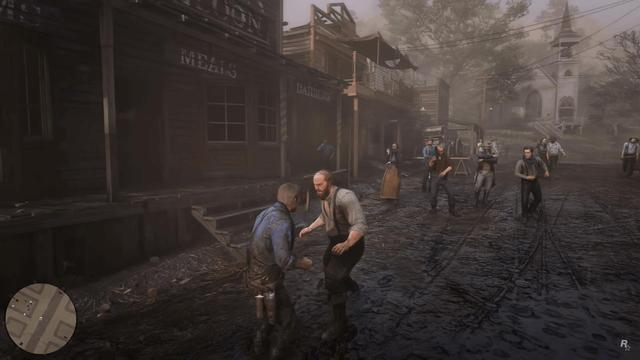 Red Dead Redemption 2 Fist Fight Bounties