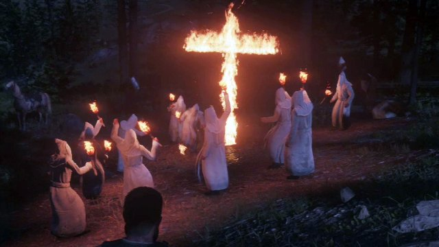 Red Dead Redemption 2 Klan Rally