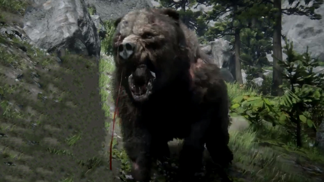 Red Dead Redemption 2 Legendary Bear Pelt