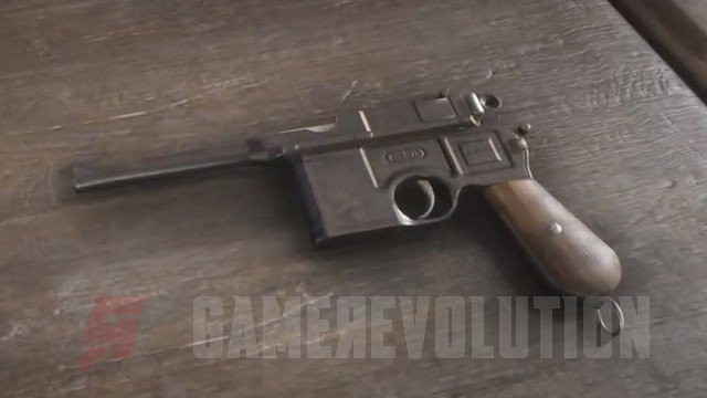 Red Dead Redemption 2 Mauser Pistol
