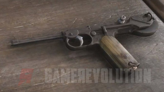 Red Dead Redemption 2 Semi-Automatic Pistol