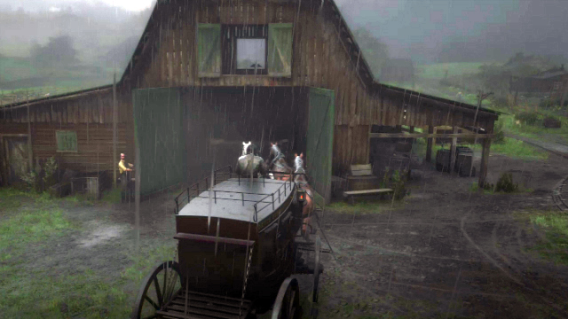 Red Dead Redemption 2 Wagon Fence