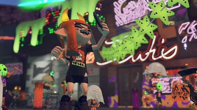 Splatoon 2 Splatoween