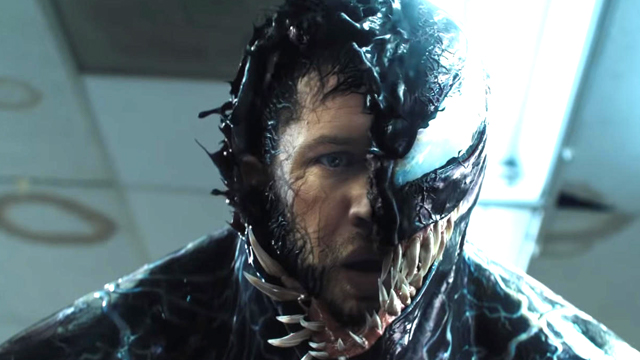 VENOM: Tom Hardy Gets Intense On The Red Carpet