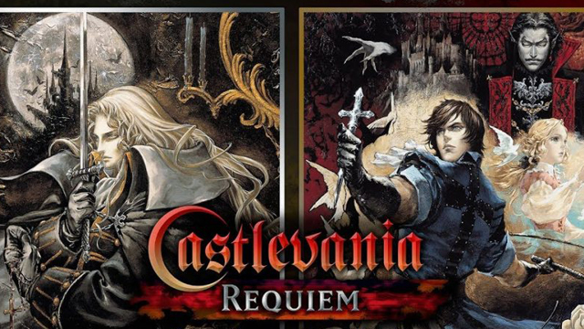 Castlevania Requiem won't have the original localization script.