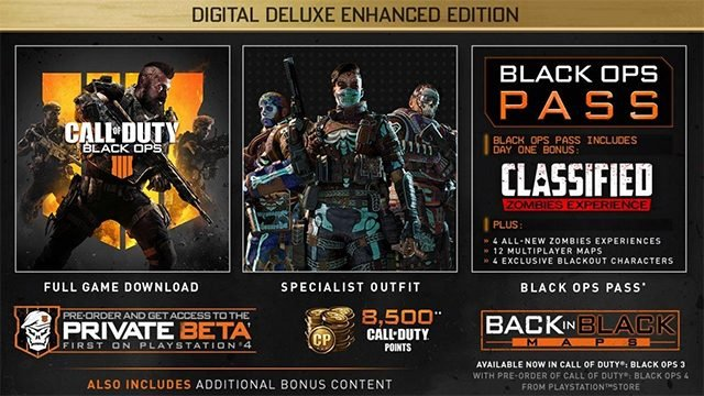 call of duty black ops 4 Black Ops 4's Progression System and Season Pass Are Dated