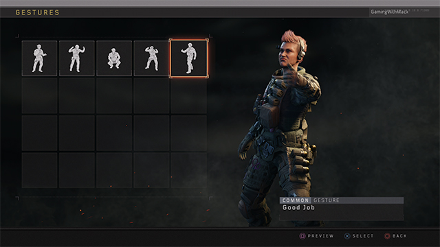 All Black Ops 4 Gestures - All Emotes and How to Unlock