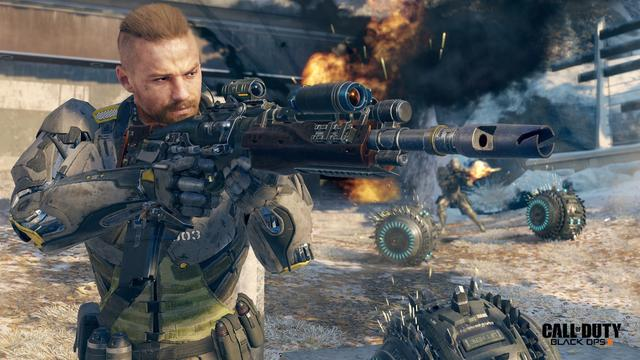 Black Ops 4 Negative 345 Silver Wolf