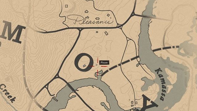 Red Dead Redemption 2 giant snake location