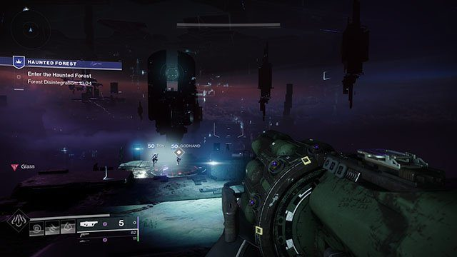 destiny 2 haunted forest timer
