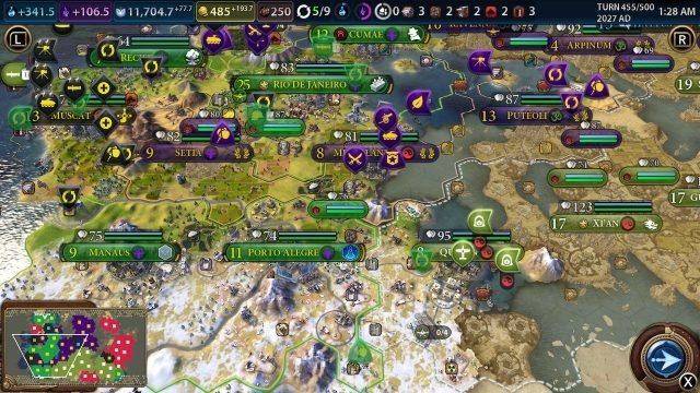 Civilization 6 Switch Review - An Entire Civilization in the