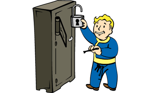 Fallout 76 Lockpicking