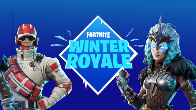 epic announces fortnite winter royale tournament with 1m. Black Bedroom Furniture Sets. Home Design Ideas