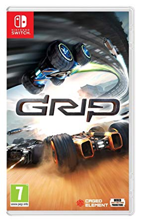 Box art - GRIP: Combat Racing