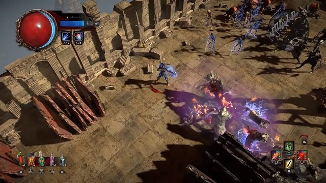 Path of Exile is coming to PS4 in December
