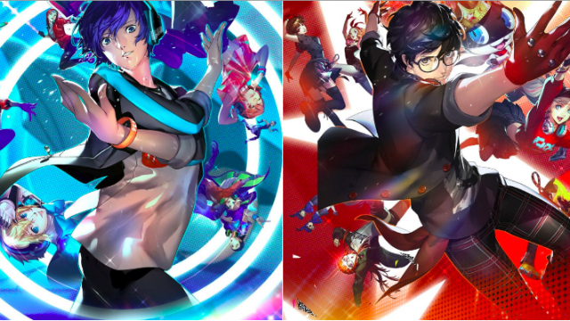 Persona Dancing 3 and 5 Cast