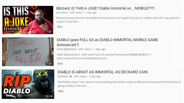 diablo immortal mobile youtube
