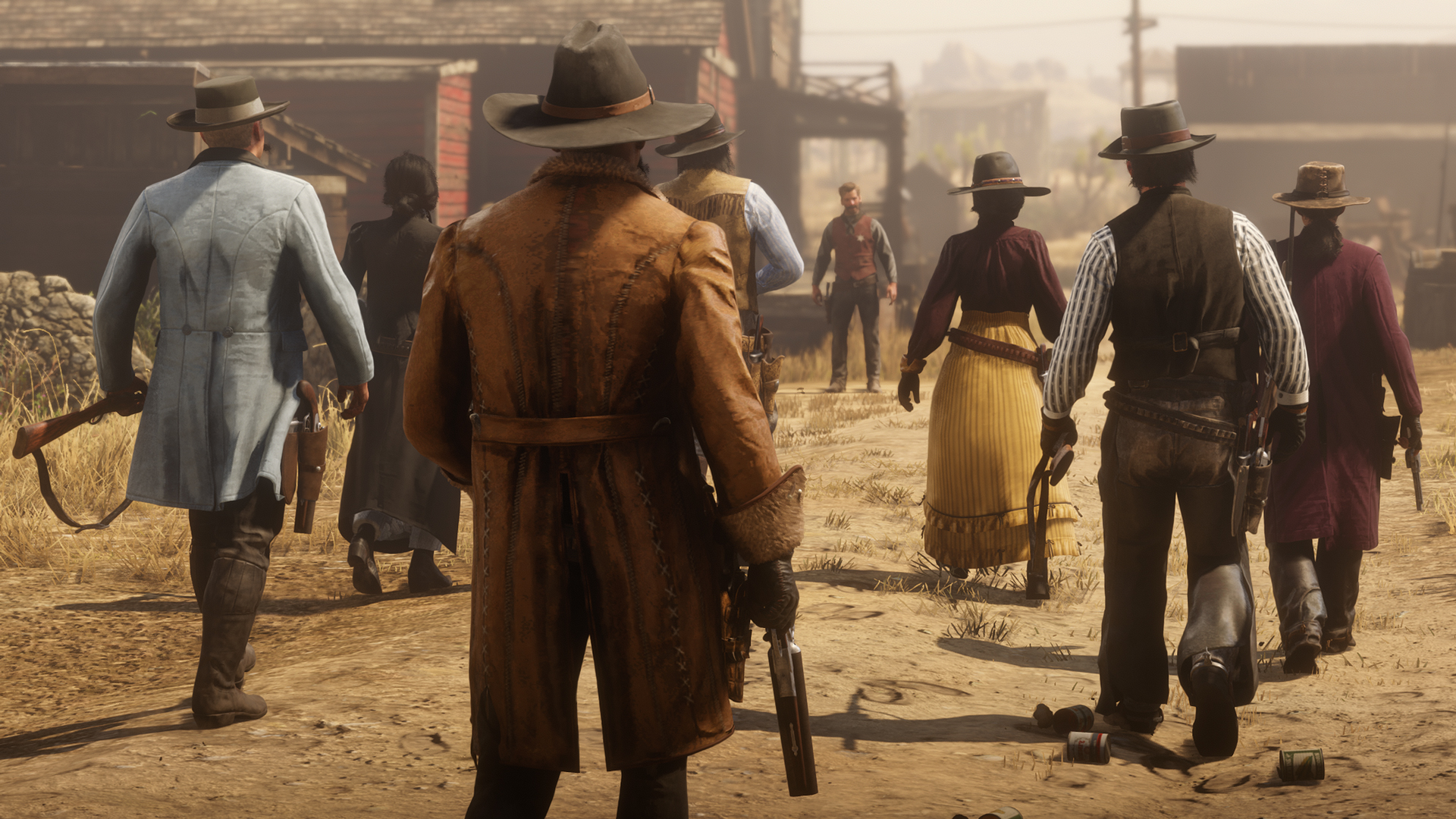 How to Join a Posse/Group in Red Dead Online