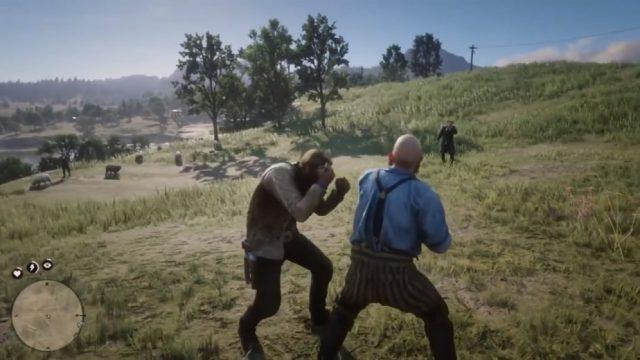 ed dead redemption 2 counter melee