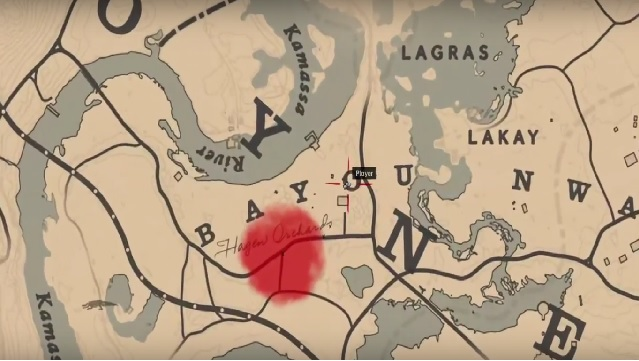 red dead redemption 2 hosea book errand location