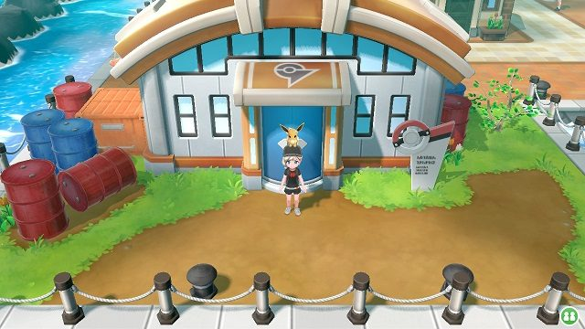 Pokemon Let's Go Gym 3 - Vermillion City vermillion gym 2