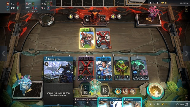 Artifact Cards Gameplay