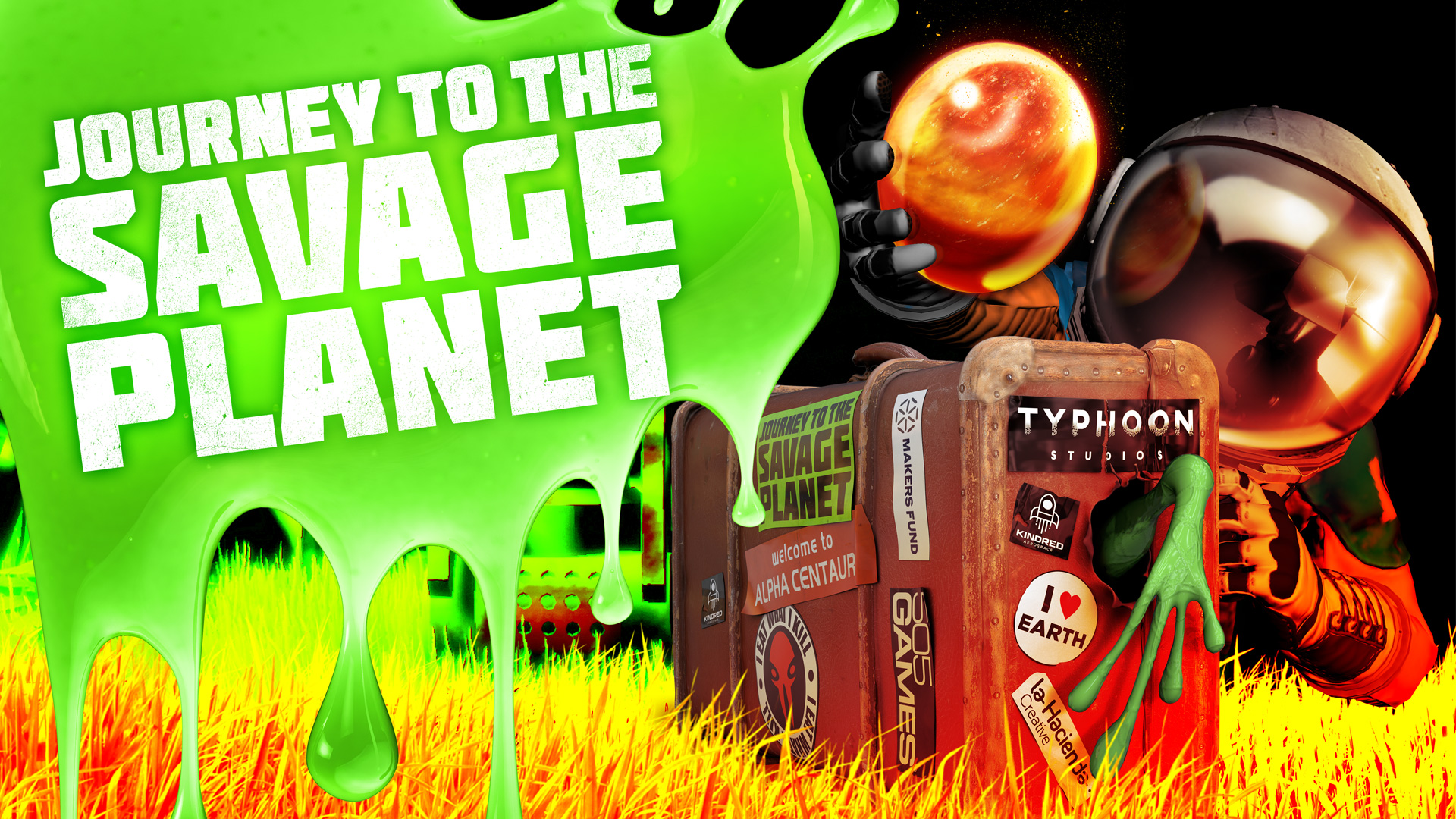 Journey to the Savage Planet Key Art