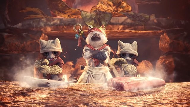 Monster Hunter Announcement incoming. I hope it's G-Rank or playing as Palicos.
