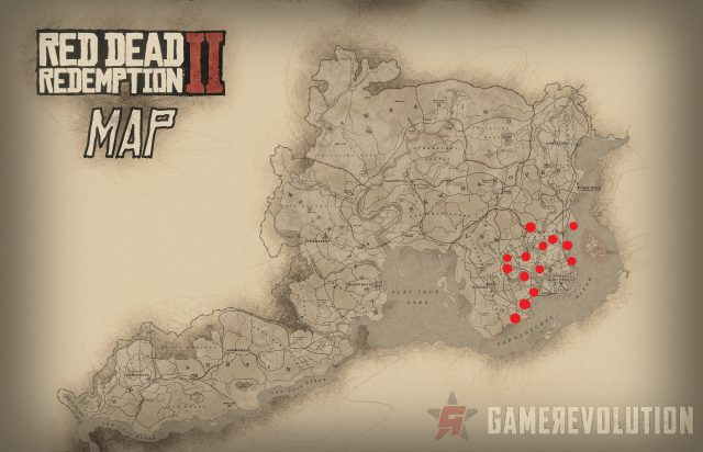 Red dead redemption 2 alligator locations