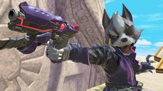 Smash Ultimate Wolf