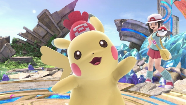 Smash Ultimate Partner Pikachu and Eevee