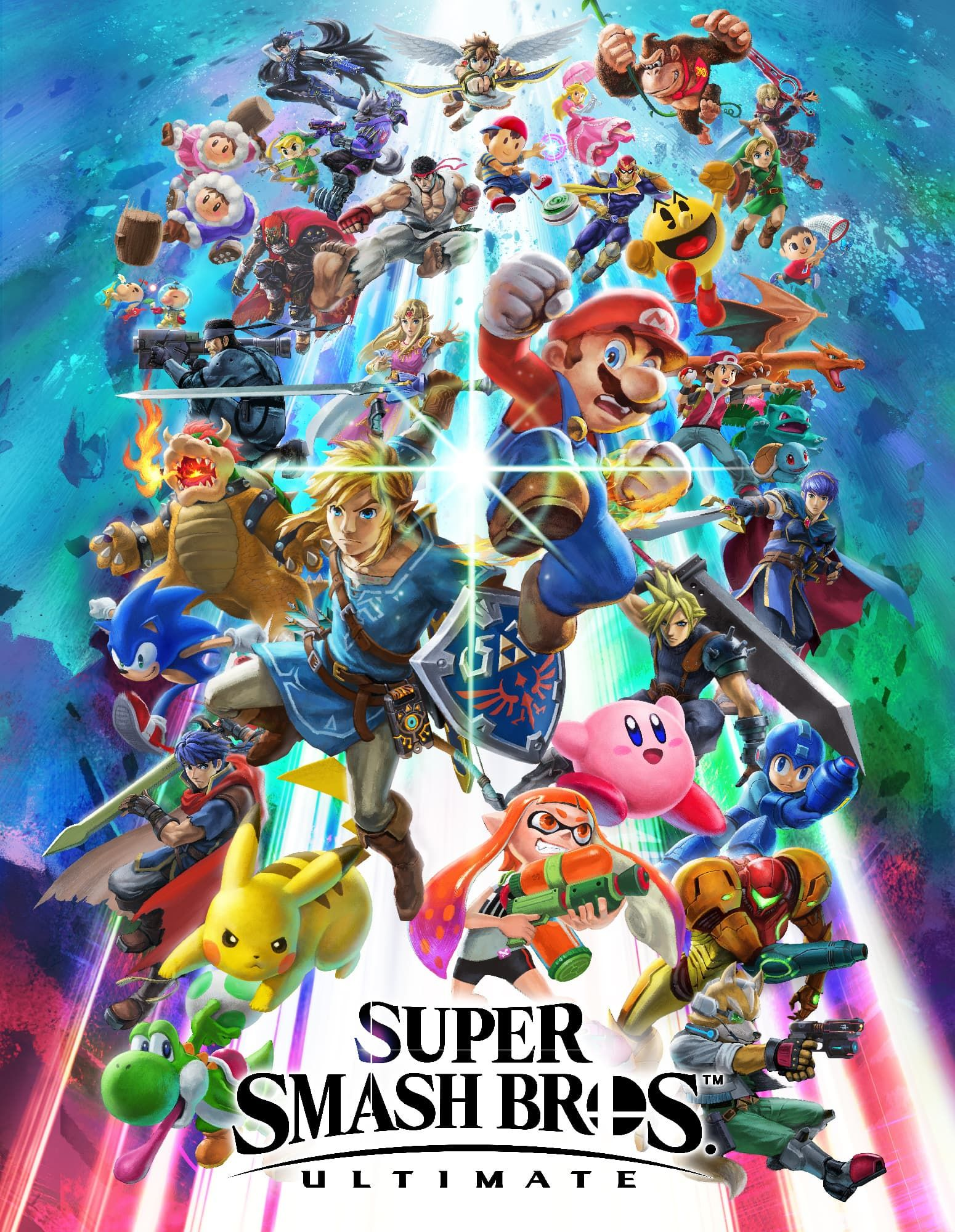 Box art - Super Smash Bros Ultimate