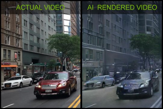 nvidia's new ai builds interactive environments from real video